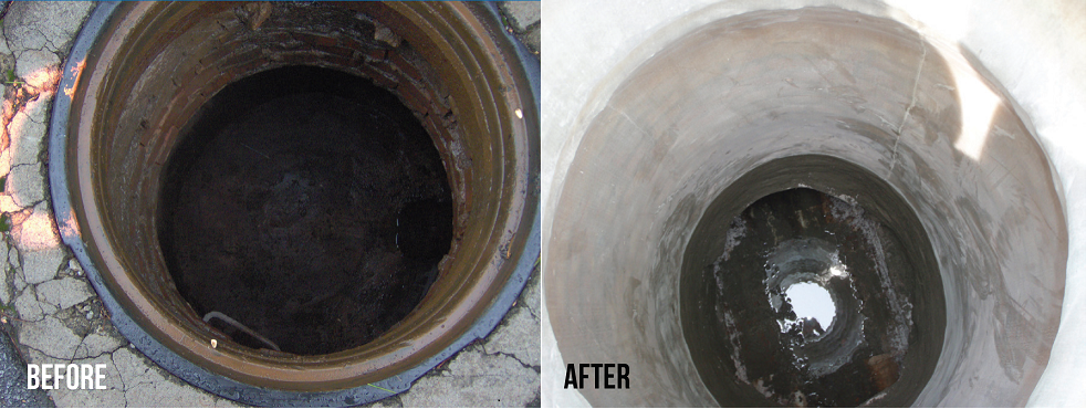 Perma-Liner™ Manhole Rehabilitation is saving cities time and money.